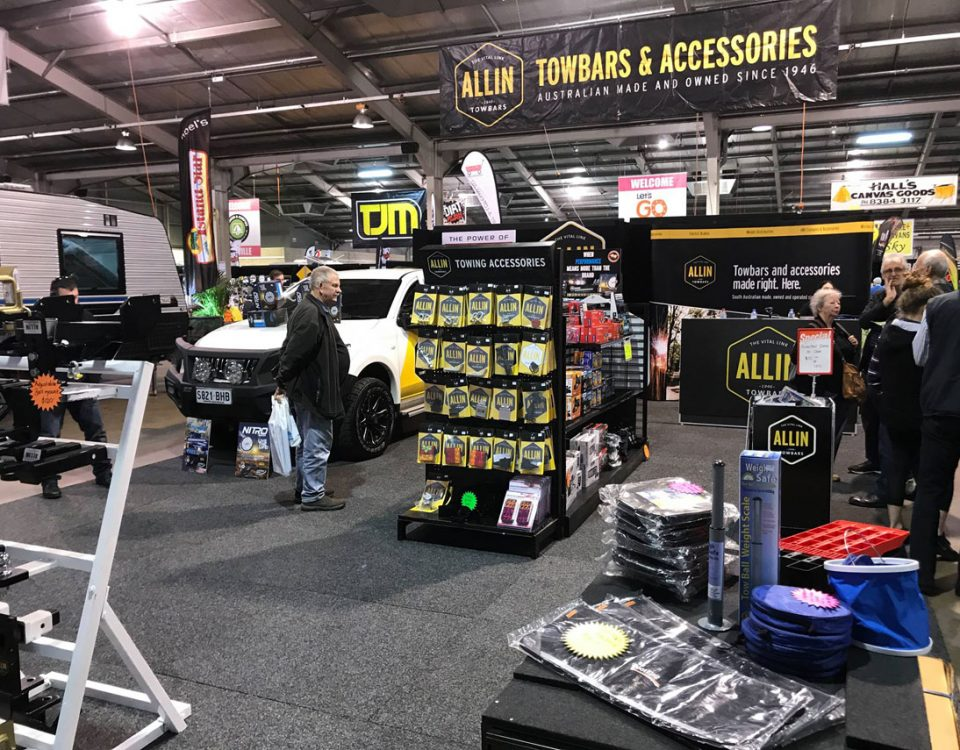 Allin Towbars at the Adelaide Caravan and Camping Show